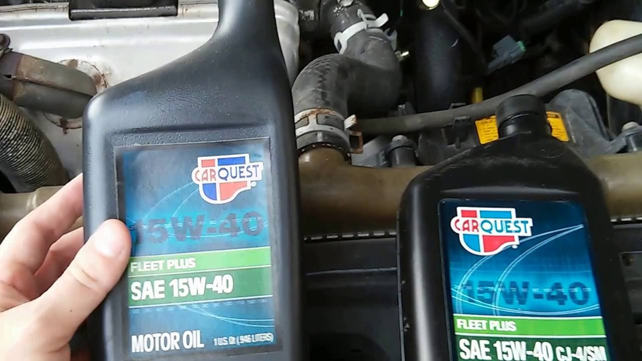 Some Standard Carquest Oil Products