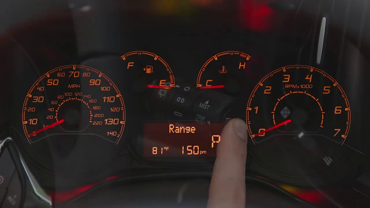 How To Reset Odometer