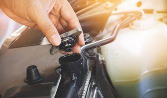 Checking Coolant Engine