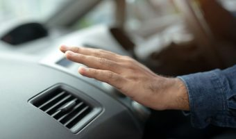 Why does the Air Conditioner only work when a car is moving