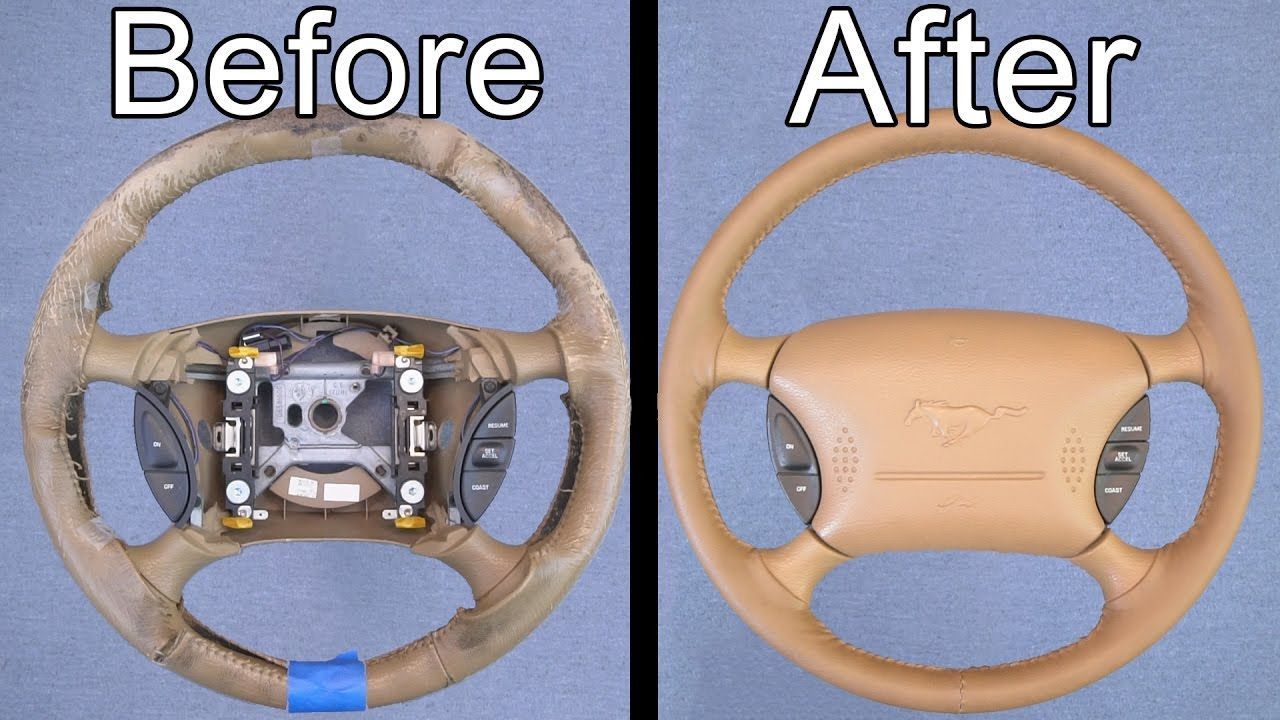 How to remove steering wheel cover