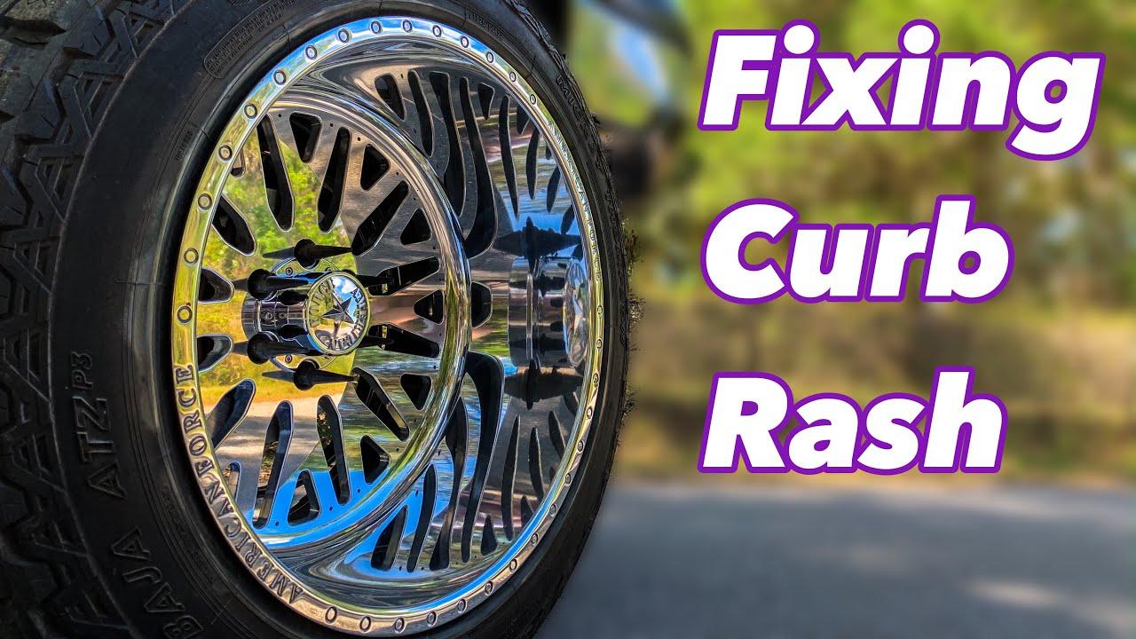 How To Fix Curb Rash On Polished Wheels