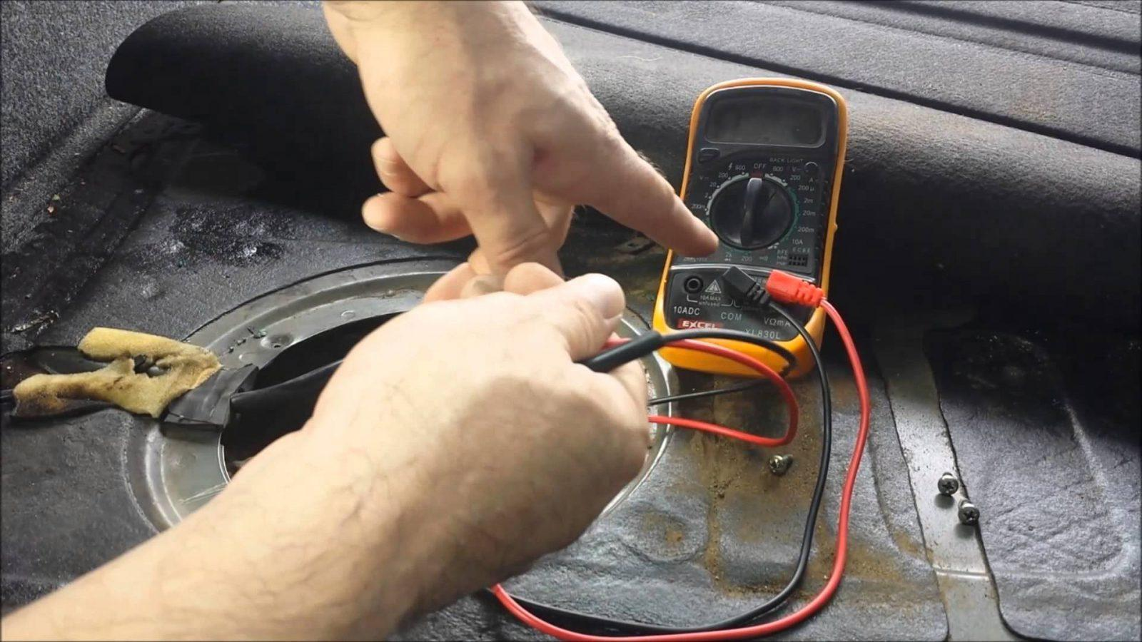 How To Test A Fuel Pump Out Of The Car