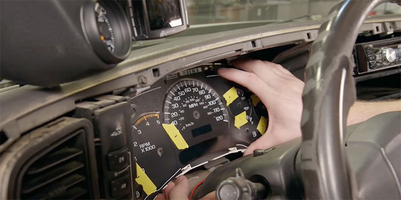 How To Reset The Gm Instrument Cluster?