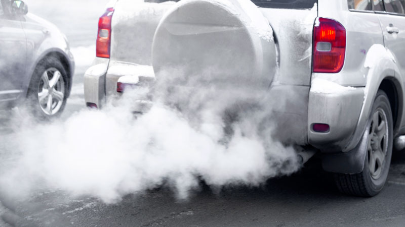 White Smoke From Exhaust When Accelerating